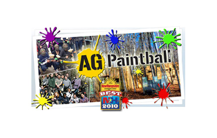 AG Paintball - Bronze rental Package ( rental equipment, upgraded anti fog masks and 500 paintballs per person, good for walk in play or private games)