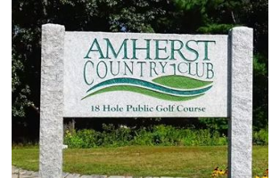 Amherst Country Club - Adult Membership for the 2018 season