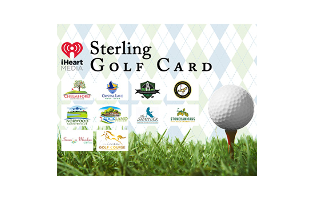 2019 Sterling Golf Card